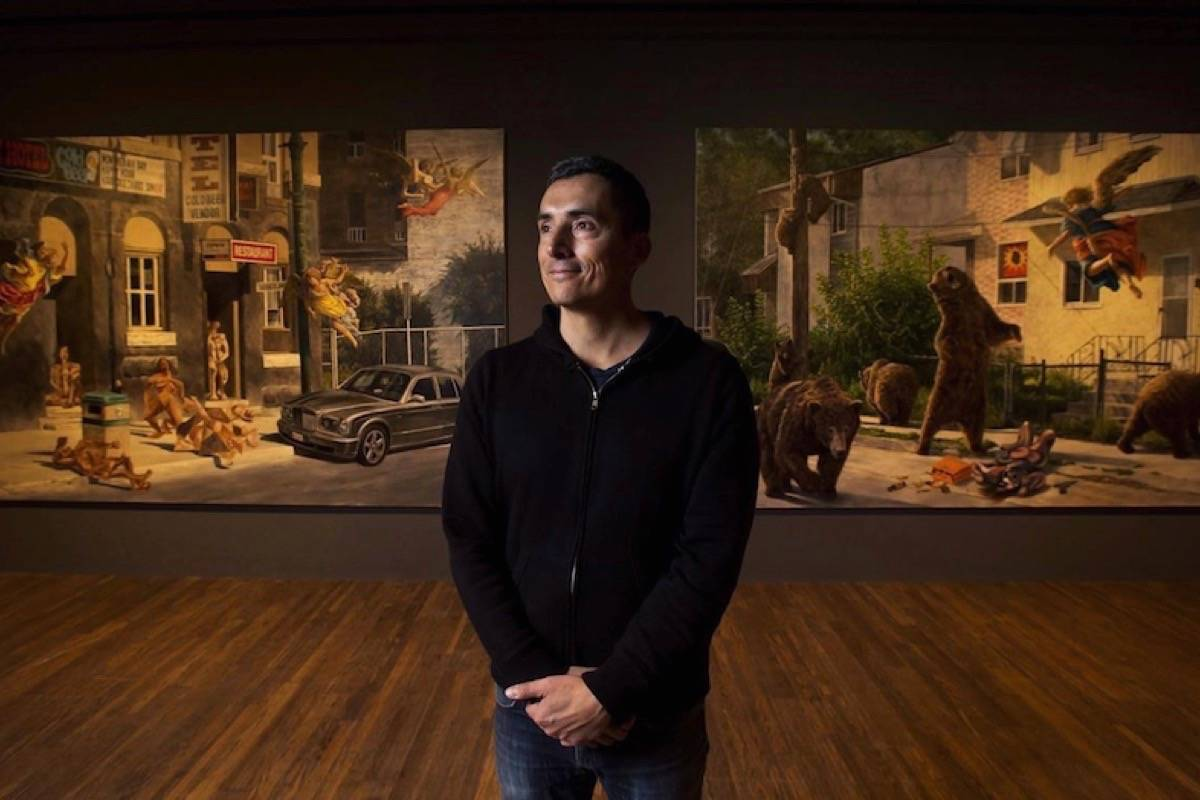 "Cree artist Kent Monkman has apologized his painting ""Hanky Panky,"" in a May 21, 2020 story. (Photo by THE CANADIAN PRESS)"